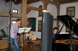 CD Production Nils Mönkemeyer / Sony 2009 at Fattoria Musica