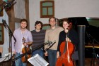 CD Production Nils Mönkemeyer / Sony 2009 at Fattoria Musica Osnabrück. After the sessions: exhausted but happy…