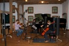 CD Production Nils Mönkemeyer / Sony 2009 at Fattoria Musica Osnabrück. Recording the trio pieces