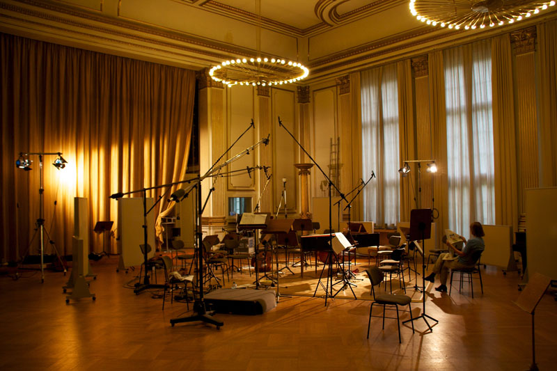 CD Production Nils Mönkemeyer / Sony 2010 at Siemensvilla Berlin. Beautiful Studio…
