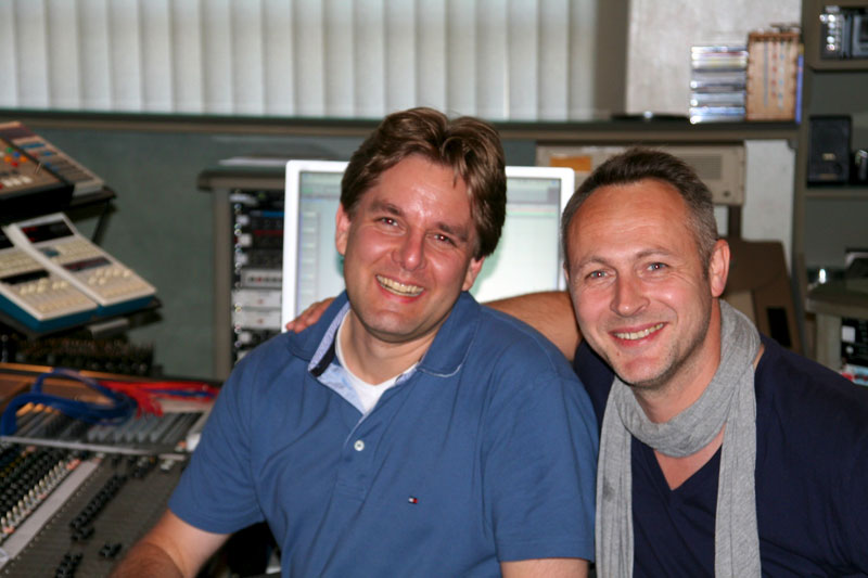 "Music recordings for ""La Nuit Nomade"" 2011. With top recording engineer Manfred Faust"