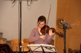 "CD Production with Lisa Schatzman and Benjamin Engeli / Claves 2013 at ""Alte Kirche"" Boswil / Switzerland. Lisa ist playing…"
