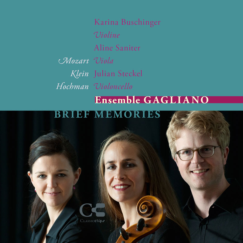 """Brief Memories"" Ensemble Gagliano / CLCL"