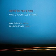 """Reminiscences"" Lisa Schatzman, Benjamin Engeli / Claves"