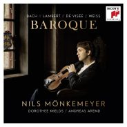 """Baroque"" Nils Mönkemeyer / Sony Classical"