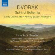 """Spirit of Bohemia"" Fine Arts Quartet / Naxos"